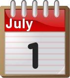 1st July