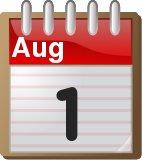 1st August