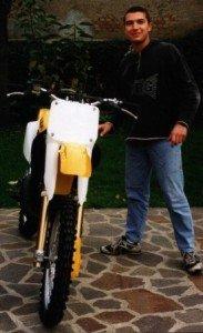 1998 - happy for the new motocross bike