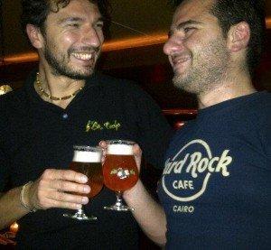 Last beer with Gianluca