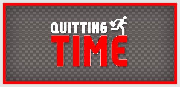 I resigned! 9 working days left