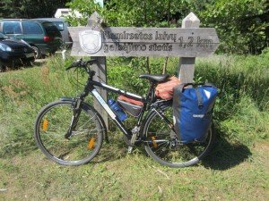 Bike with luggage for 2 weeks
