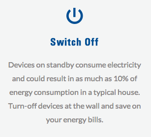 Switch Off - save energy