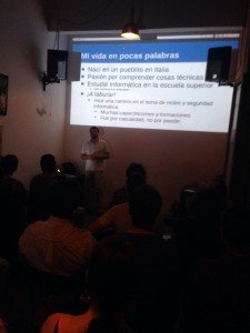 Presenting in Buenos Aires