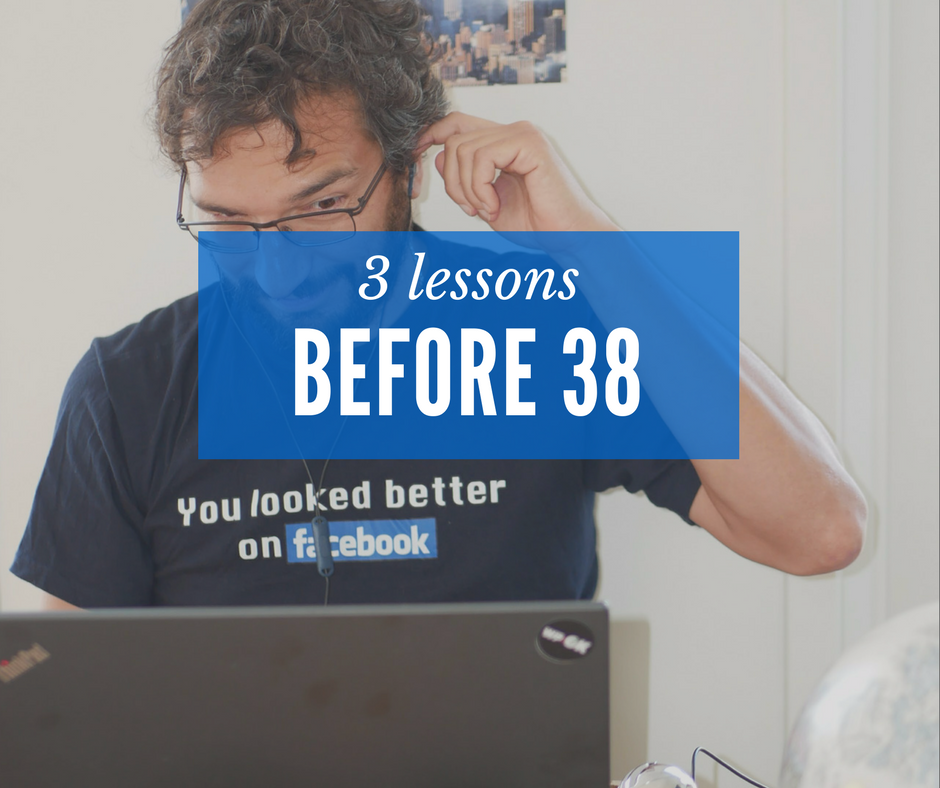 Lessons before 38