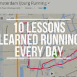 What I learned Running Every Day for a Month
